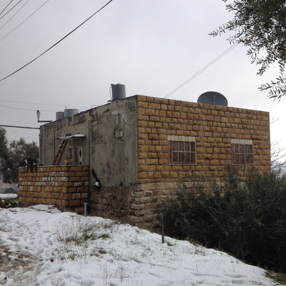 31.1.2016 Tel Rumeida, Hebron. House mentioned with camera on the roof, EAPPI - S. Tucci
